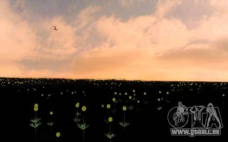 ENBSeries par AVATAR 4.0 Finale pour les faibles pour GTA San Andreas troisième écran