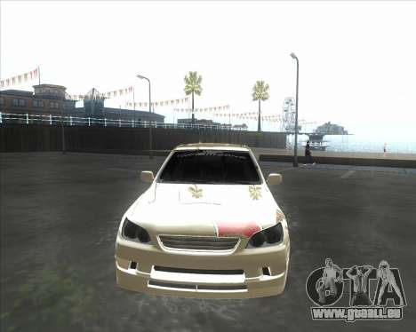 Lexus IS300 Tuneable für GTA San Andreas linke Ansicht
