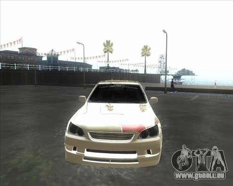 Lexus IS300 Tuneable für GTA San Andreas linke Ansicht