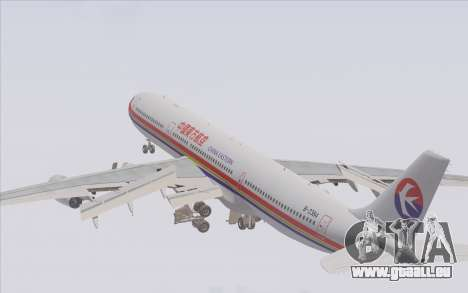 Airbus A340-300 China Eastern für GTA San Andreas Motor
