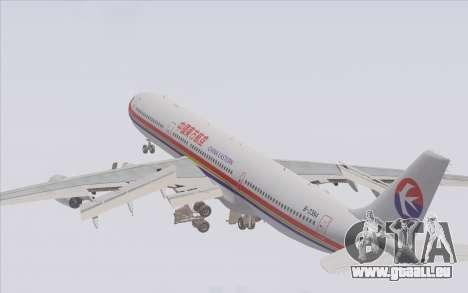 Airbus A340-300 China Eastern pour GTA San Andreas moteur