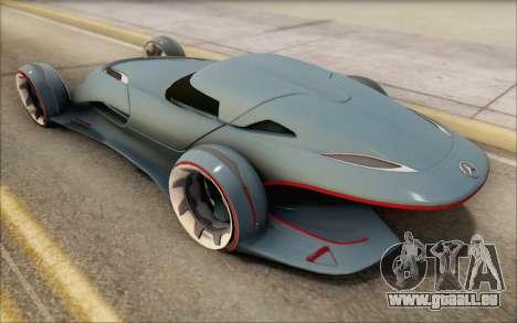 Mercedes-Benz SilverArrow für GTA San Andreas Rückansicht