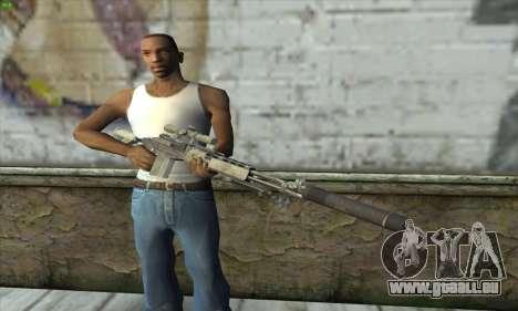 Sniper Rifle из MW2 für GTA San Andreas dritten Screenshot