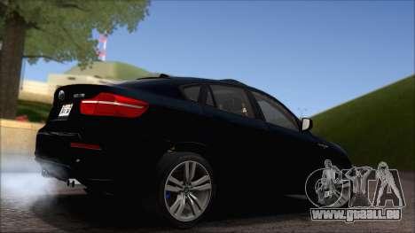 BMW X6M E71 2013 300M Wheels für GTA San Andreas Seitenansicht