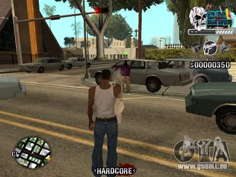 C-HUD Hardcore By KD für GTA San Andreas sechsten Screenshot