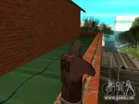 Le nouveau dépôt à San Piero pour GTA San Andreas quatrième écran