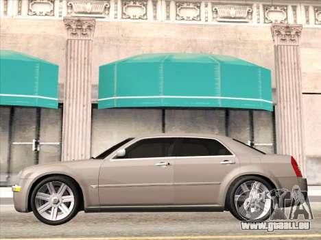 Chrysler 300C 2009 für GTA San Andreas Rückansicht