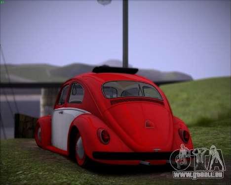 Volkswagen Beetle Stance pour GTA San Andreas vue de droite