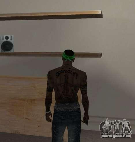 Neue bandanas für CJ für GTA San Andreas zweiten Screenshot