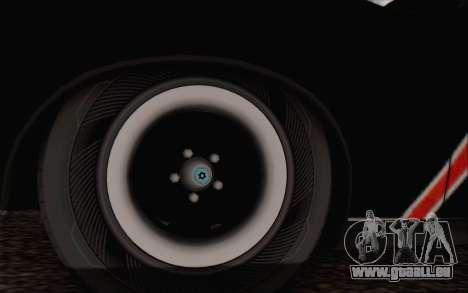 AMC Javelin pour GTA San Andreas sur la vue arrière gauche