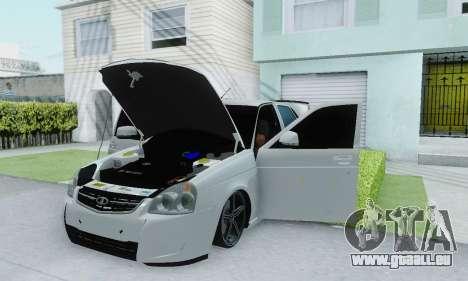VAZ 2170 für GTA San Andreas Innenansicht