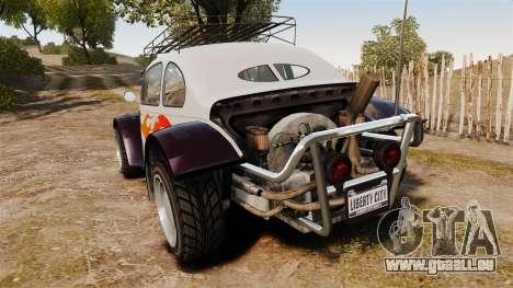 GTA V BF Injection pour GTA 4 Vue arrière de la gauche