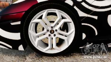 Lamborghini Aventador LP700-4 2012 [EPM] Circle pour GTA 4 Vue arrière
