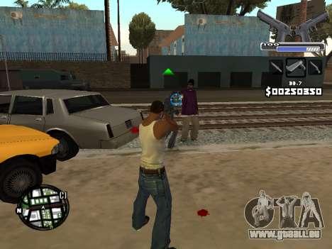 C-HUD Deagle für GTA San Andreas her Screenshot