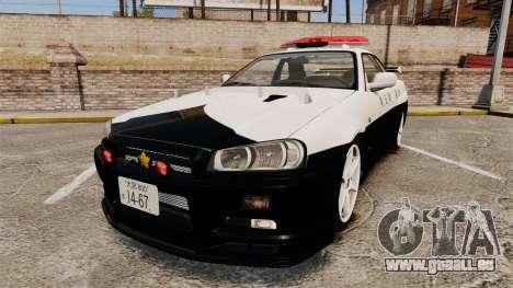 Nissan Skyline GT-R R34 Saitama Police für GTA 4