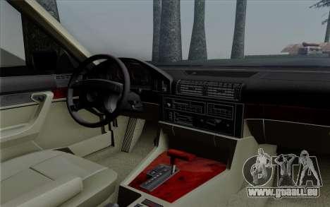 BMW 540i (E34) pour GTA San Andreas vue de côté
