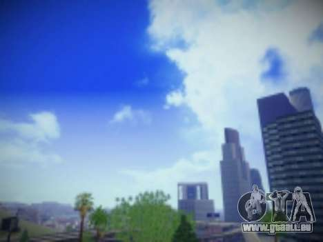 SkyBox Arrange - Real Clouds and Stars pour GTA San Andreas deuxième écran