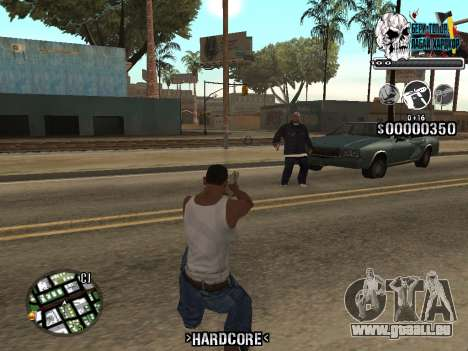 C-HUD Hardcore By KD für GTA San Andreas her Screenshot