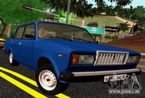 VAZ-2107 Riva pour GTA San Andreas