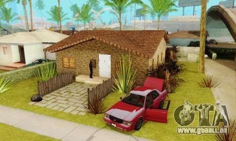 Neue Texturen des Hauses Denis für GTA San Andreas
