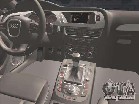 Audi S4 für GTA San Andreas obere Ansicht