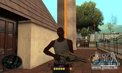 C-HUD Old-Rifa pour GTA San Andreas troisième écran