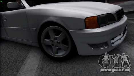 Toyota Chaser Tourer V pour GTA San Andreas vue de droite
