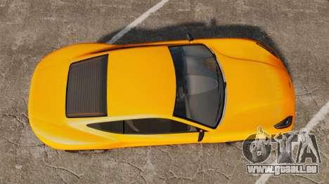 GTA V Dewbauchee Massacro für GTA 4 rechte Ansicht