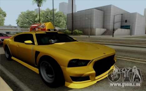 Buffalo Taxi pour GTA San Andreas
