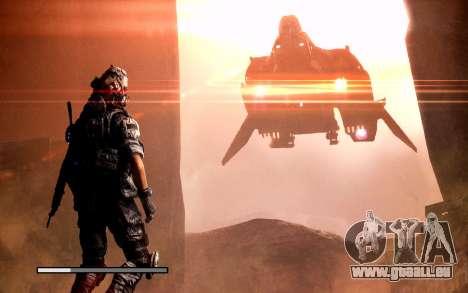 Les écrans de démarrage et de menus Titanfall pour GTA San Andreas neuvième écran