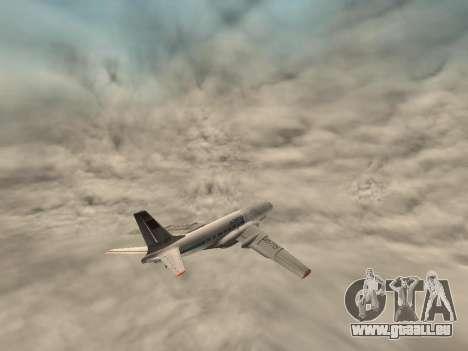 Tu-A für GTA San Andreas Seitenansicht