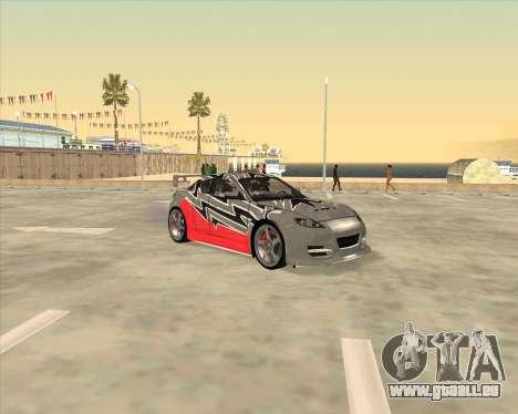 Mazda RX-8 из NFS Most Wanted für GTA San Andreas