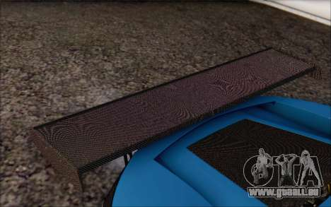 Gumpert Apollo S Autovista für GTA San Andreas Innen