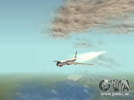 Tu-A für GTA San Andreas Innenansicht
