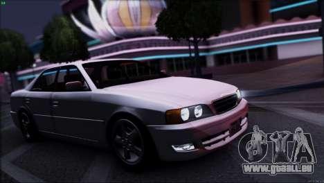 Toyota Chaser Tourer V pour GTA San Andreas salon