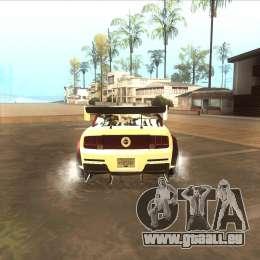 Ford Mustang GT из NFS MW für GTA San Andreas rechten Ansicht