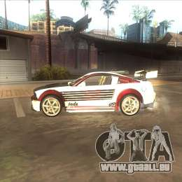 Ford Mustang GT из NFS MW für GTA San Andreas linke Ansicht