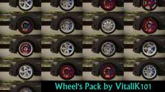Wheels Pack by VitaliK101