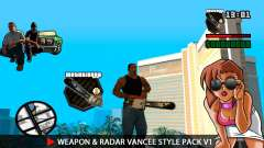 Arme & Radar VanCee Style Pack v1