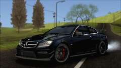 Mercedes C63 AMG Black Series 2012 für GTA San Andreas