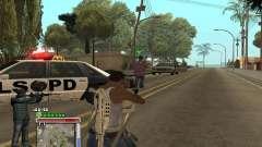 C-HUD Grove by Krutoyses pour GTA San Andreas
