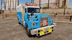 Mack R Bronx 1993 NYPD Emergency Service [ELS] für GTA 4