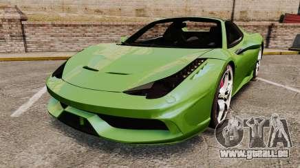 Ferrari 458 Spider Speciale für GTA 4