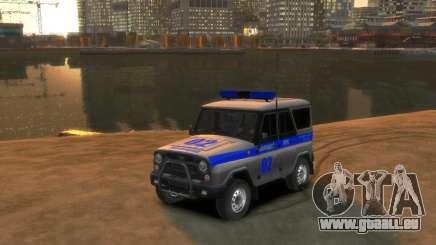 UAZ 315195 Hunter Polizei für GTA 4