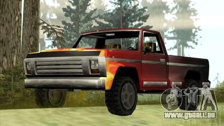 La Nouvelle Jeep (Yosemite) pour GTA San Andreas