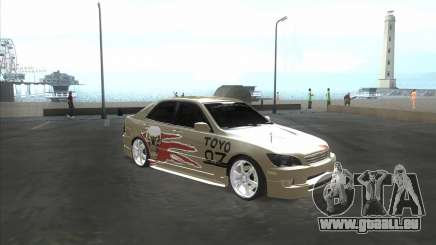 Lexus IS300 Tuneable pour GTA San Andreas