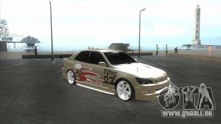 Lexus IS300 Tuneable für GTA San Andreas