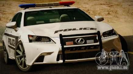 Lexus GS350 F Sport Series IV Police 2013 für GTA San Andreas
