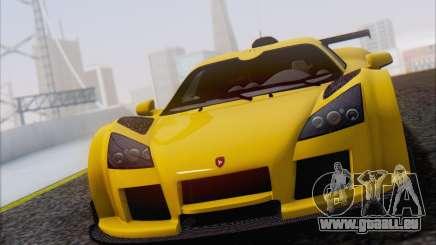 Gumpert Apollo S Autovista pour GTA San Andreas
