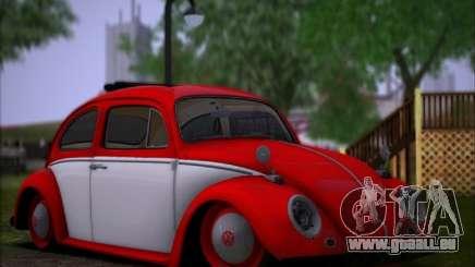 Volkswagen Beetle Stance für GTA San Andreas